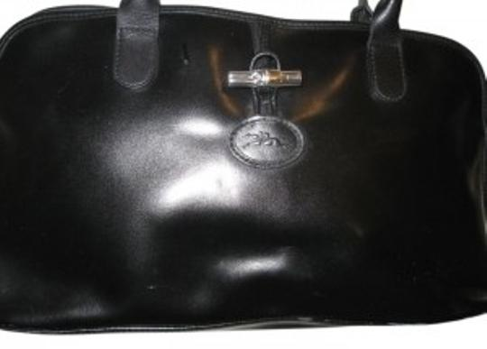 Preload https://item2.tradesy.com/images/longchamp-black-leather-shoulder-bag-14151-0-0.jpg?width=440&height=440