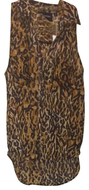 MINKPINK Top Cheetah
