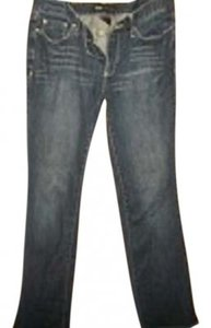 Mossimo Supply Co. Mid-rise Boot Cut Jeans-Dark Rinse