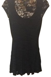 Aritzia short dress Black on Tradesy