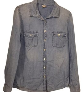 J.Crew Button Down Shirt Light wash denim