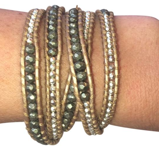 Preload https://img-static.tradesy.com/item/14152729/gunmetal-and-silver-bracelet-0-1-540-540.jpg