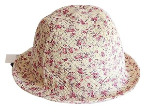 Jessica Simpson Jessica Simpson Floral Fedora Hat Cloud Pink