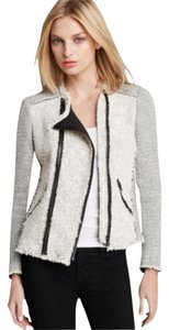 Rebecca Taylor Black And White Blazer