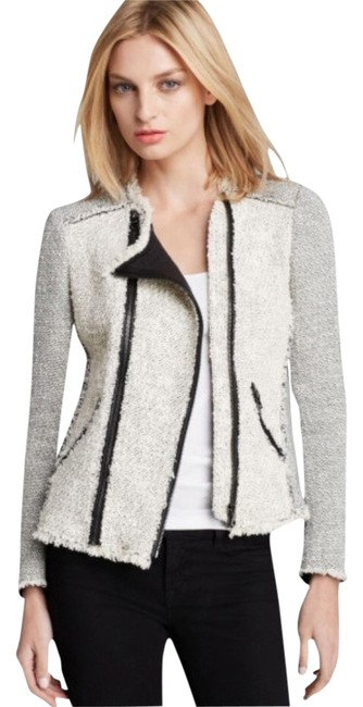 Preload https://item4.tradesy.com/images/rebecca-taylor-black-and-white-tweed-blazer-size-2-xs-1415328-0-0.jpg?width=400&height=650
