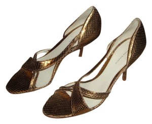 Banana Republic Stiletto Gold Pumps
