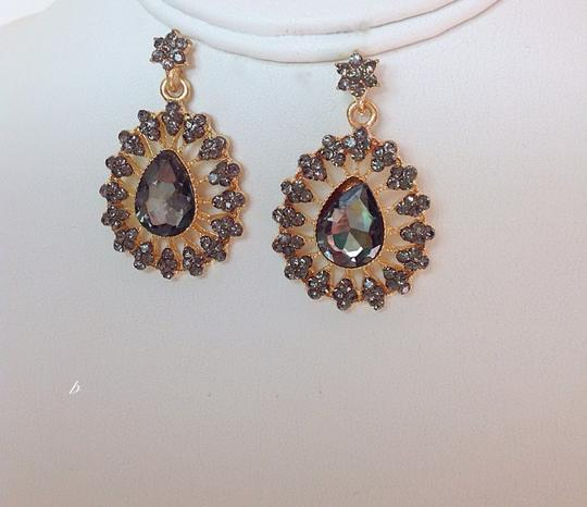 0 Degrees Golden Sapphire Drop Earrings!