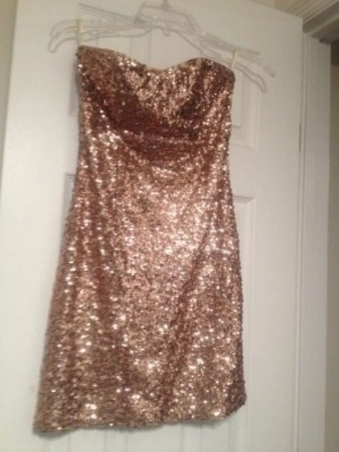 Forever 21 Sequins Mini Going Party Dress