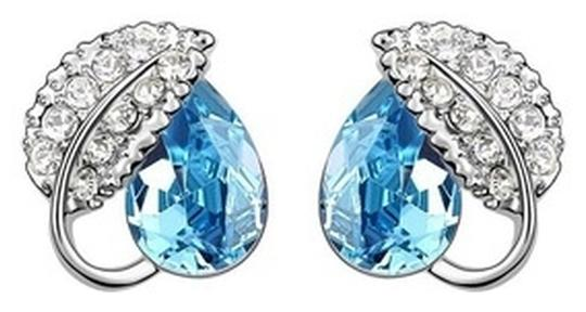 Other 18K GP Swarovski crystal earrings , silver plated earrings