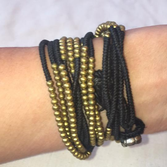 Woven and metal wrap