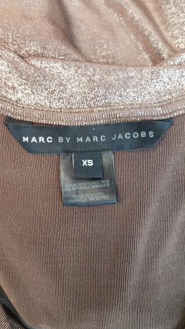 Marc by Marc Jacobs Brown Stretchy Shift Dress Image 4