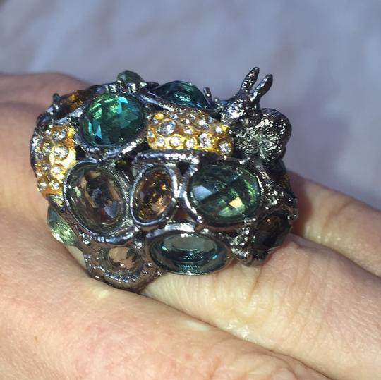 Jewel and bunny ring