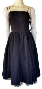 Rampage Tulle Party Beaded Poof Dress