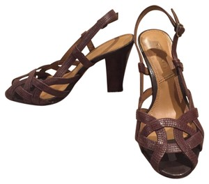 Tahari Brown Sandals