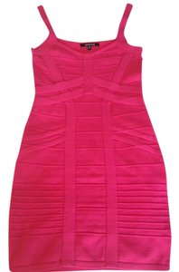 WOW short dress Hot Pink on Tradesy