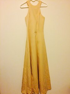 Jim Hjelm Occasions Cream, Yellow Tone Dress