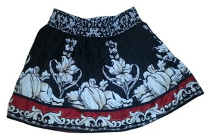 White House | Black Market Mini Floral Whbm Skirt Multi