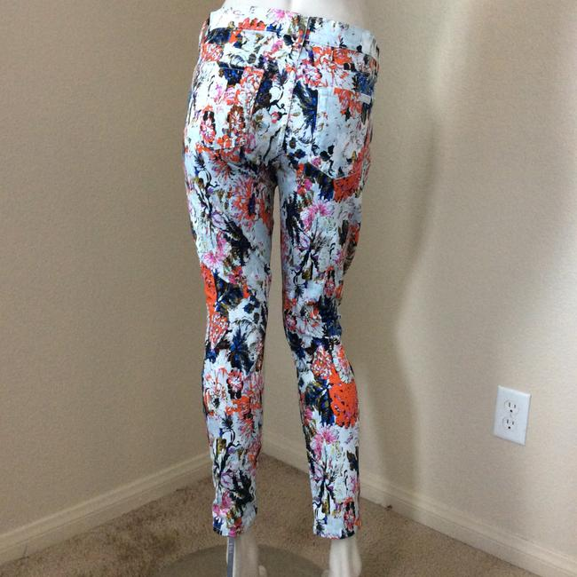 7 For All Mankind Skinny Pants Multicolor