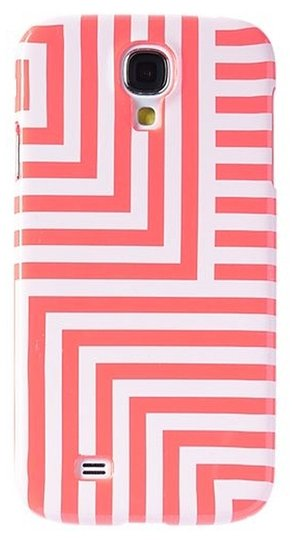 Kate Spade Kate Spade Saturday Neon Coral Zig Zag Case Cover Samsung Galaxy 4