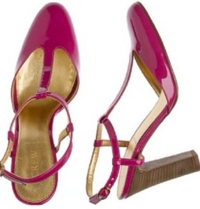 J.Crew Autumn Berry (hot Pink) Sandals
