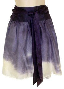 Theory Skirt Purple Ombre`
