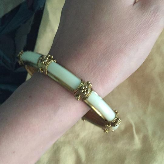 Other 8 inch ivory gold color felicity bangle