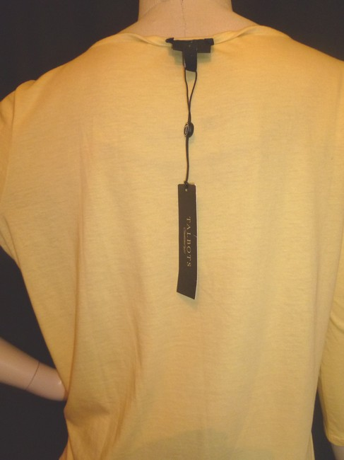 Talbots New Size Xp Frilled Scoop Neck Sweater