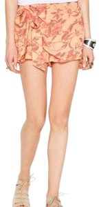 Free People Mini Skirt Tangerine