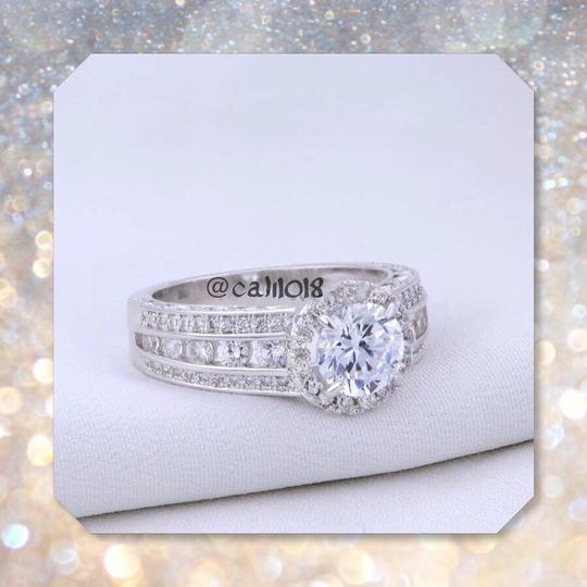 Other New Stunning 2.3CT .925 Sterling Silver 101 AAA CZ Stones Sz 7
