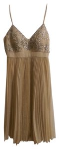 Sue Wong Shimmering Champaign Dress