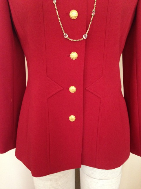 Chanel Red Jacket