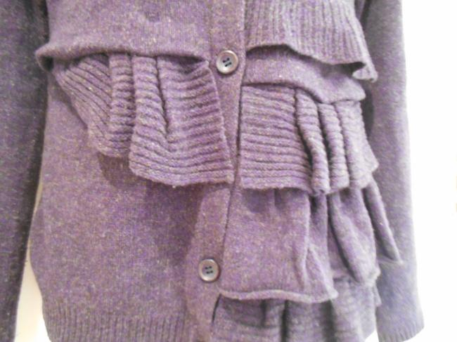 Anthropologie Xs S Small Extra Small Lavender Wool Wool Blend Warm Winter School Office Work Ski Snow Fall Winter Buttons Button Up Sweater