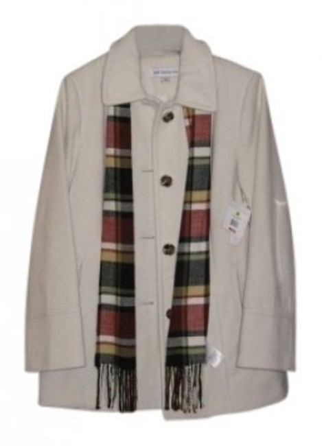 Preload https://item2.tradesy.com/images/liz-claiborne-winter-white-pea-coat-size-8-m-141606-0-0.jpg?width=400&height=650
