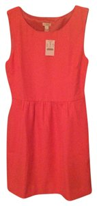 J. Crew short dress Coral on Tradesy