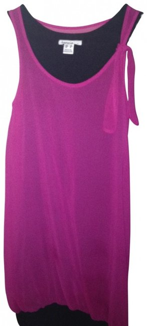 Preload https://img-static.tradesy.com/item/141614/kensie-pink-and-black-above-knee-night-out-dress-size-2-xs-0-0-650-650.jpg