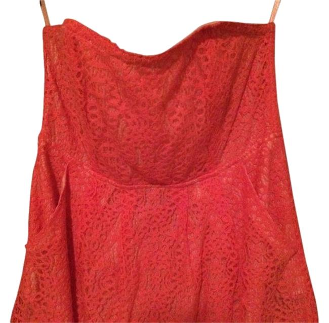 Fossil short dress Coral on Tradesy