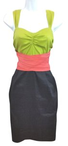 DKNY short dress Color-blocking on Tradesy