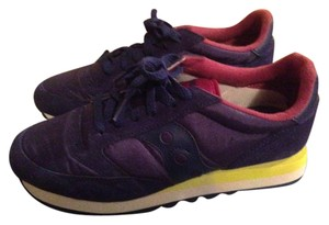 Saucony PURPLE/LIME GREEN Athletic