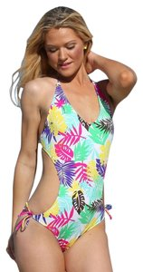 UjENA Ujena Monokini Cut Out size 10 California GIrl One Piece NWT