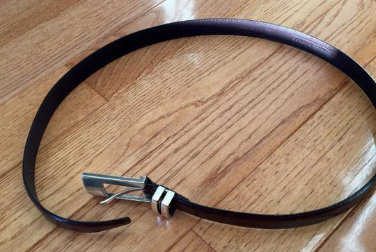 Fossil Fossil Brown Leather Belt