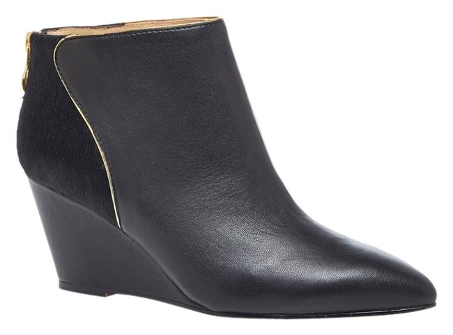 Item - Black Wedge Boots/Booties Size US 11 Regular (M, B)