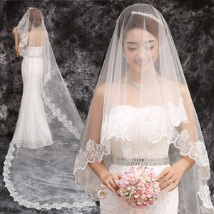 Beautiful Mantilla Cathedral Wedding Veil