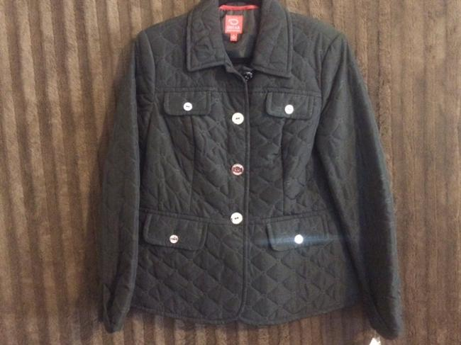 Oscar de la Renta Coat Coat Black Jacket
