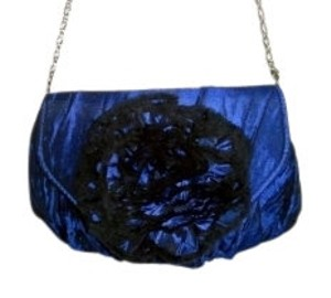 Style & Co shimmering royal blue Clutch