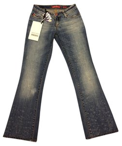 Miss Sixty Boot Cut Jeans-Distressed