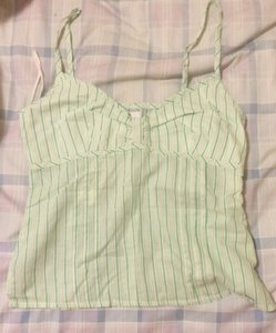 Lilu Top green stripe