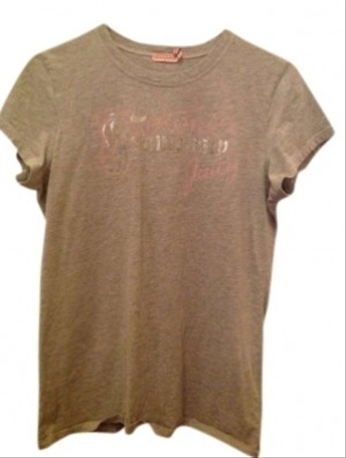 Juicy Couture Short-sleeve T Shirt Light Grey