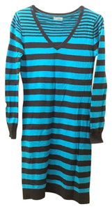 Old Navy short dress Black Sweater Stripes on Tradesy