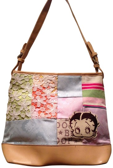 Preload https://item5.tradesy.com/images/betty-boop-novelty-one-of-a-kind-medium-brown-with-multi-colored-background-tote-141669-0-0.jpg?width=440&height=440