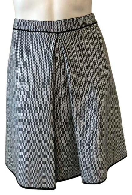 Gray Knit Inverted Pleat Skirt Size 4 (S, 27) Image 0
